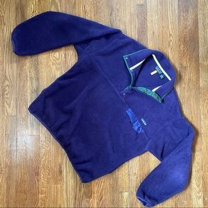 Patagonia Vintage 90s Synchilla Snap T Pullover